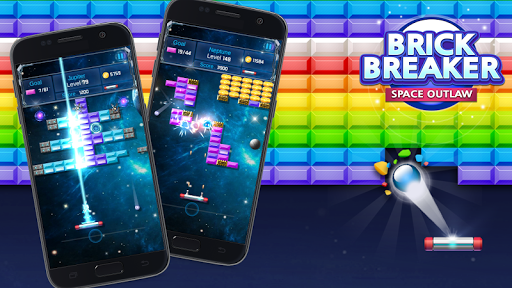 Brick Breaker : Space Outlaw filehippodl screenshot 2
