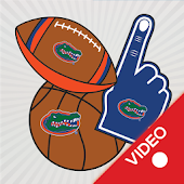 Florida Gators Selfie Stickers Animated