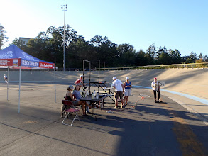 Photo: Race line - thanks to all our volunteers and supporters!
