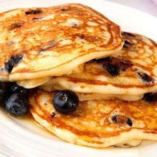 Grain Free Lemon Blueberry Pancakes