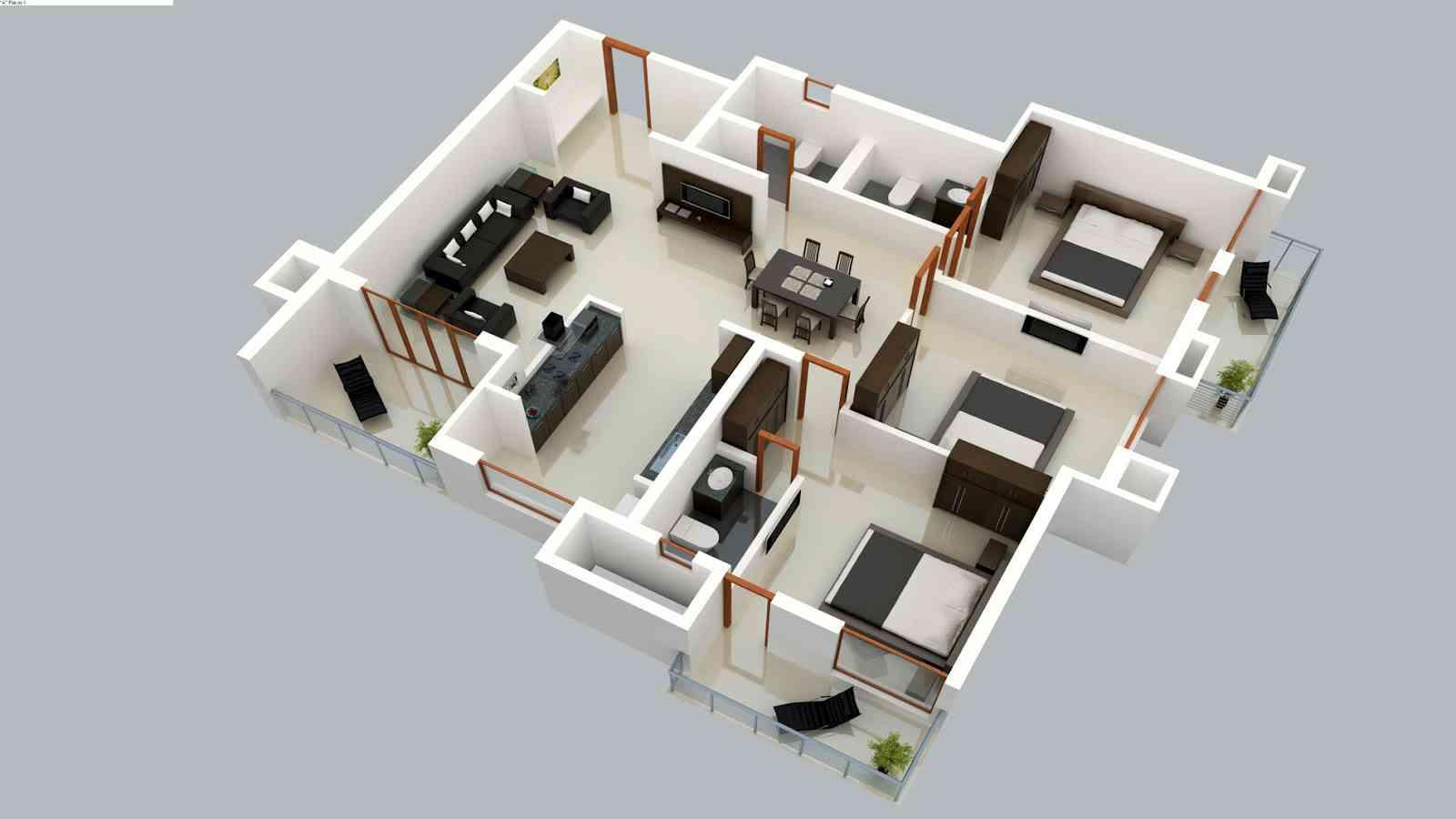 Home Design Plans 3D Creative 3D Home Floor Plan Ideas  Android Apps On Google Play