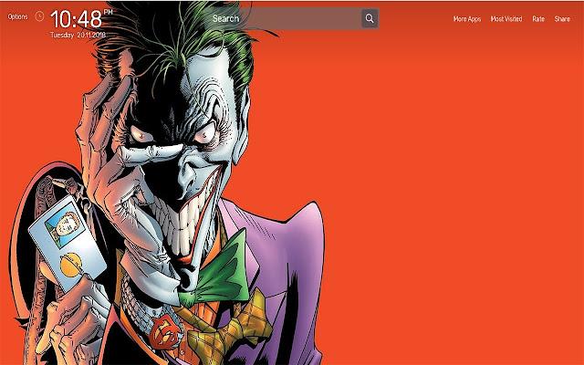 Joker Wallpapers NewTab Theme