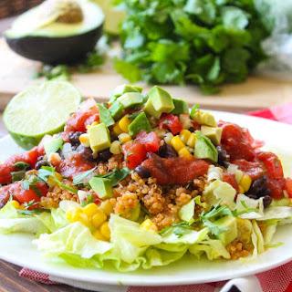 Fully Loaded Taco Salad.