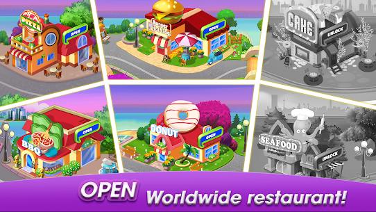 Cooking World: Cook,Serve & Design Your Resort! 5