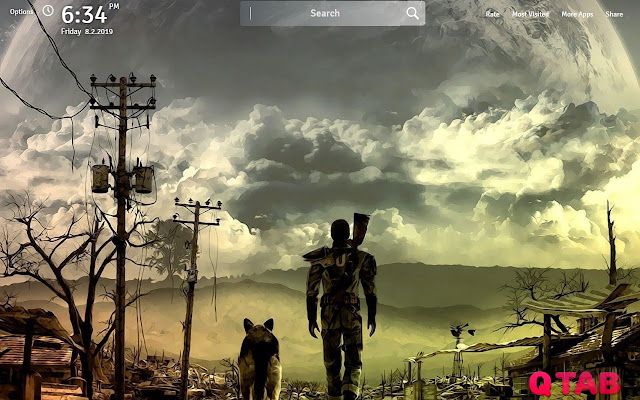 Fallout 76 Wallpapers Fallout 76 New Tab