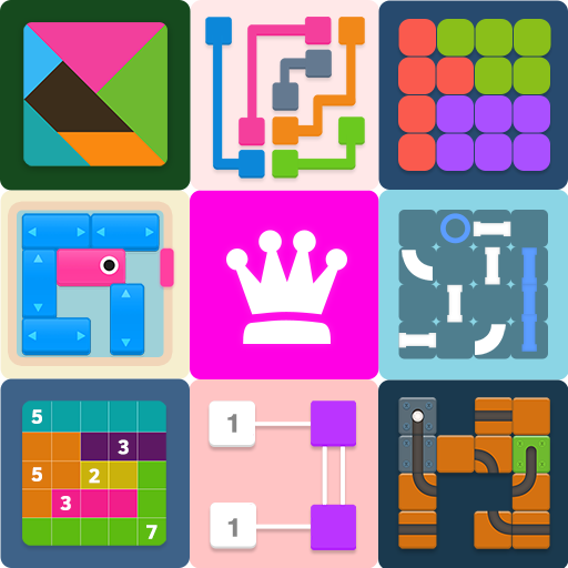 Puzzledom – classic puzzles all in one 7.4.61 APK MOD
