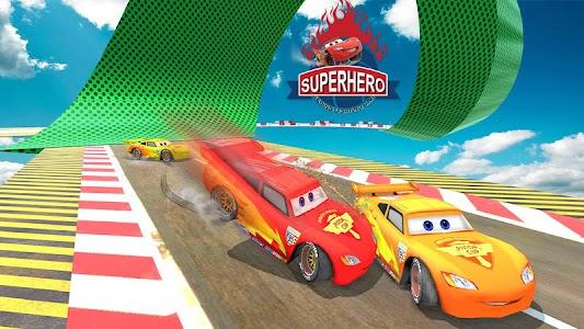 Splashy Superhero Vertigo racing : lightning car 1.3