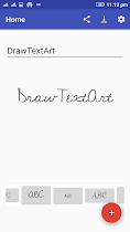 Draw Text Art - screenshot thumbnail 01