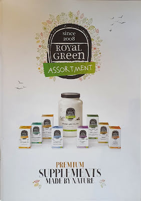 Broschyr Supplements Royal Green ENG