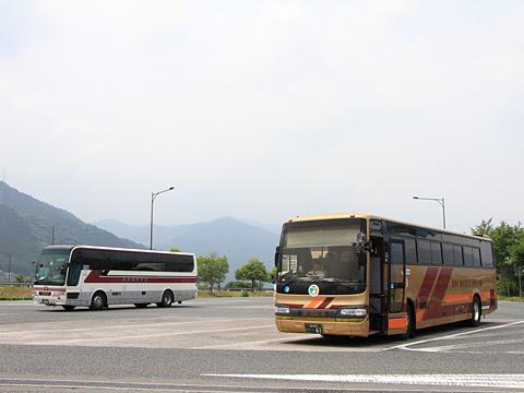 とさでん交通「高知徳島エクスプレス」 ・・61 吉野川SAにて_01