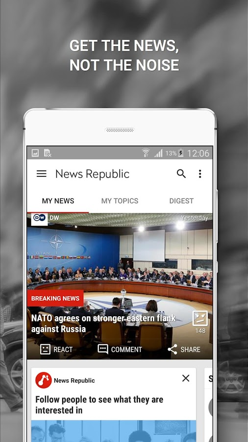 news republic app for news