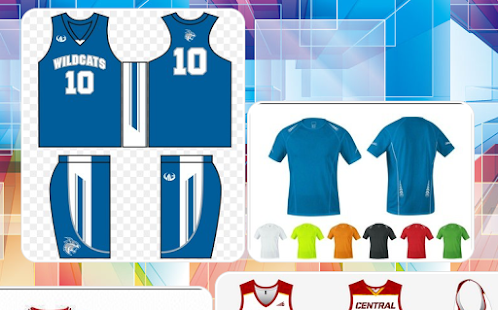 Customized Jersey Design - náhled
