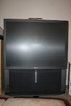 Photo: $50 52' Sony Projection TV