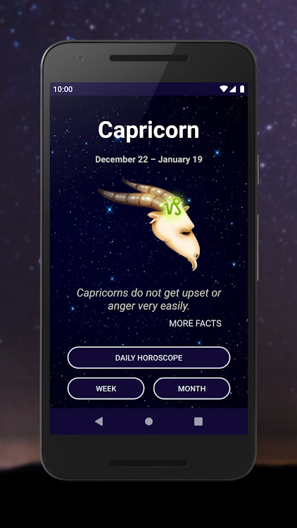 Capricorn ♑ Daily Horoscope 2019 – (Android Apps) — AppAgg