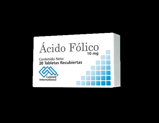 acido folico 10mg 20tab colmed