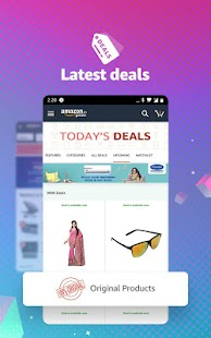 Amazon Shopping, UPI, Money Transfer, Bill Payment Screenshot