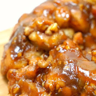 Caramel Pumpkin Monkey Bread.