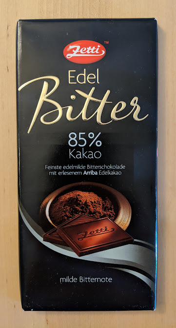 85% Edelbitter Zetti Bar