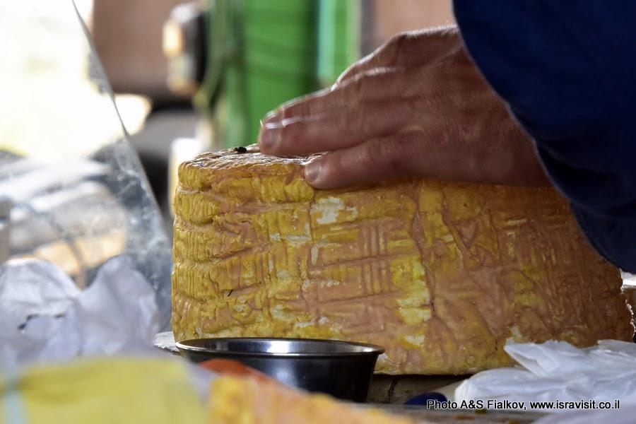 Козий сыр на ферме Адоллам.Иудея, Израиль.