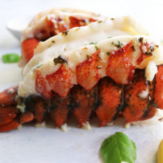 Perfect Herb + Butter Lobster Tails.