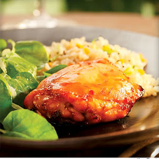 Lime-Honey Glazed Chicken