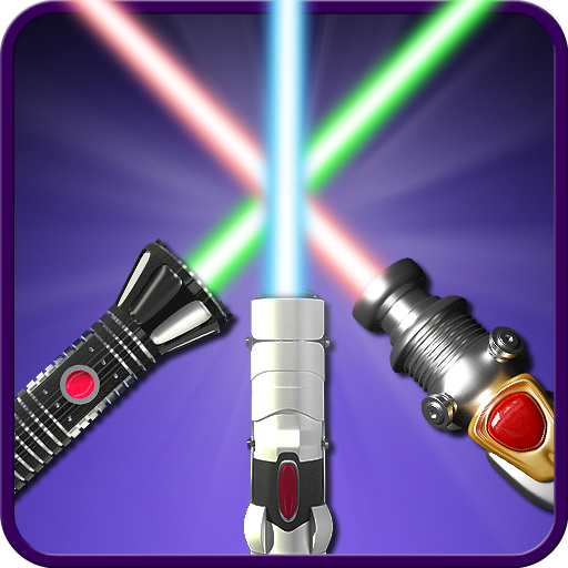 Laser sword - simulator. Icon