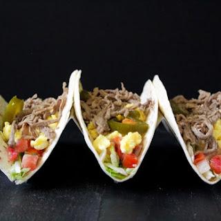 Breakfast Beef Tacos