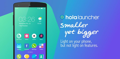 A small, lightweight launcher that keeps your phone clean and its speed fast!