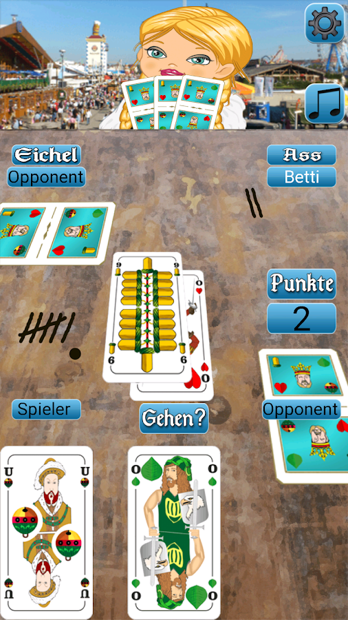 Watten - Kartenspiel- screenshot