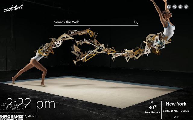 Gymnastics HD Wallpapers Sport New Tab Theme