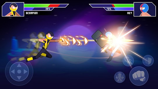 Galaxy of Stick: Super Champions Hero MOD (Unlock All Heroes) 4