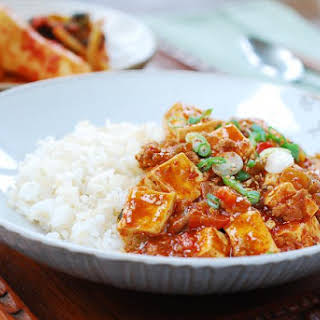 Mapo Tofu (Korean-style).