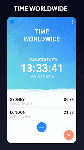 Time in Vancouver, Canada - náhled
