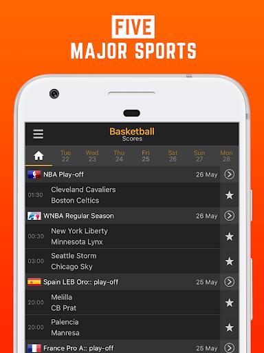 LiveScore: Live Sport Updates 3.0.9 screenshots 5