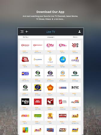 dittoTV - Live TV & VoD a1.134 screenshot 1344022