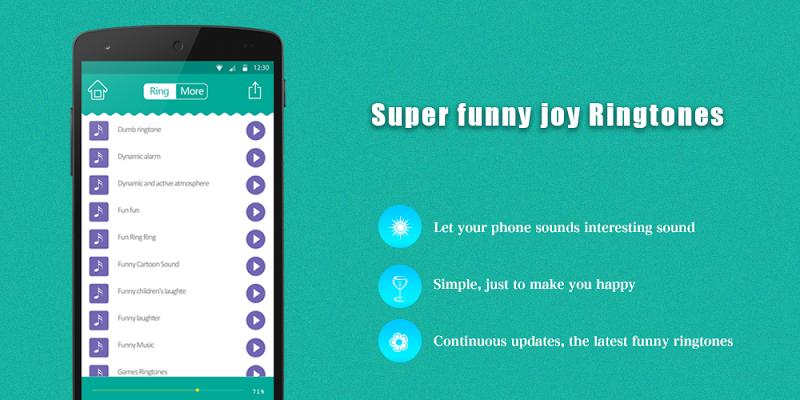Super funny joy Ringtones 2018 - screenshot