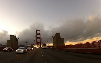 Photo: On the Golden Gate Bridge