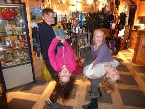 Photo: Ben, Lorenza, Millie and Katie