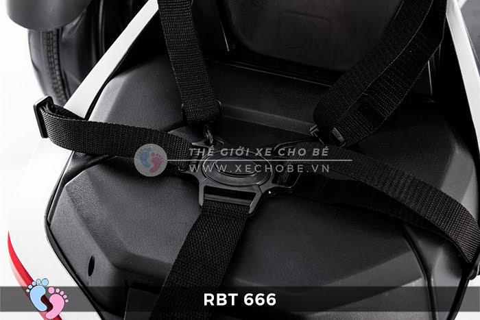 Xe mô tô điện trẻ em 3 bánh RBT-666 7