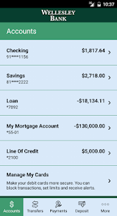 Wellesley Bank Mobile Banking- screenshot thumbnail