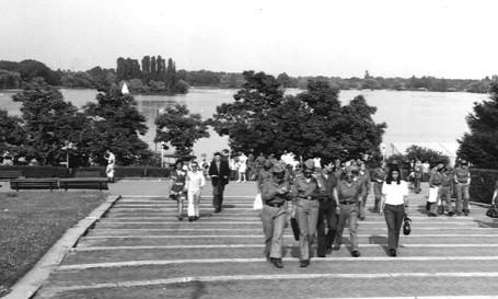 Description: Aspecte din parcul Herastrau.