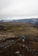 Photo: The Morinsheiði plateau is the flat area behind Serene