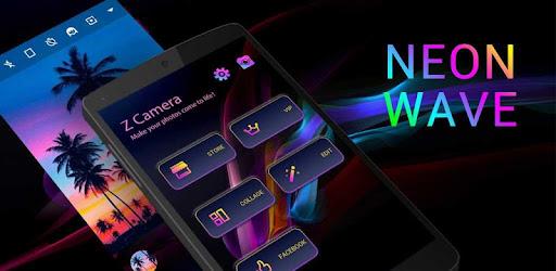 Приложения в Google Play – Z CAMERA NEON WAVE THEME