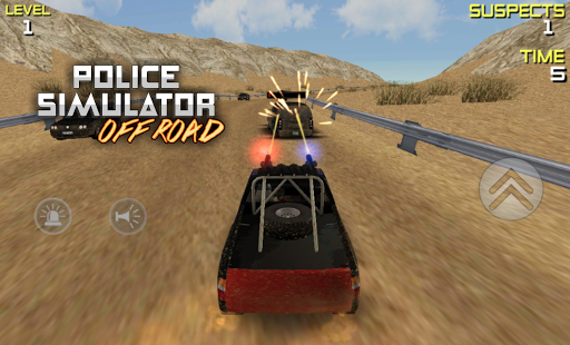 POLICE Offroad Simulator HD 1 screenshots 4