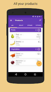 Best Before - Food Tracker - náhled