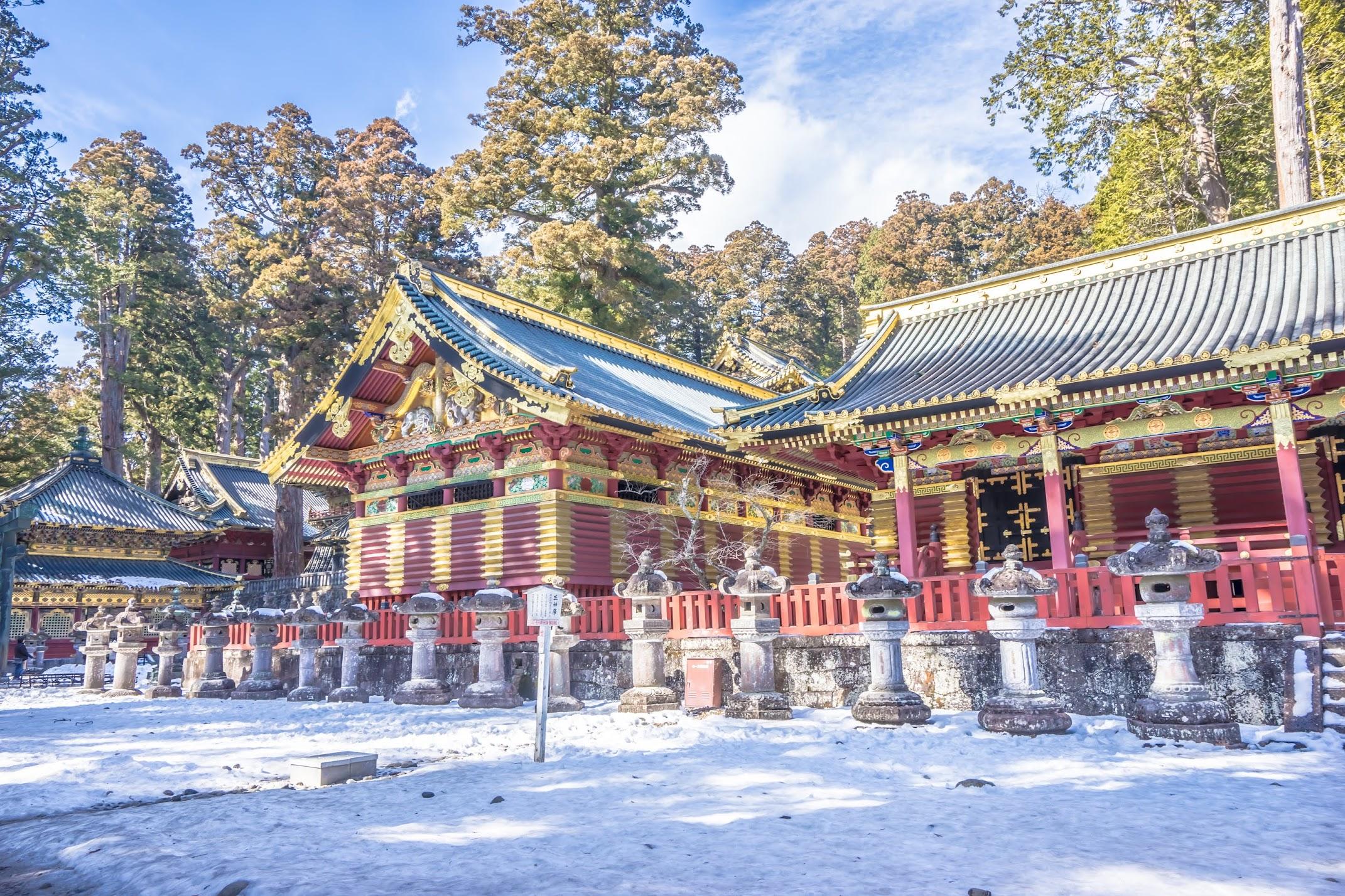 Nikko Toshogu Shrine Three Sacred Storehouses3