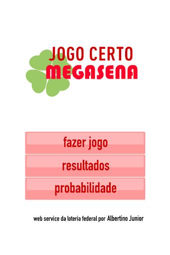 JogoCerto MegaSena