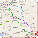 GPS Maps, Route Finder - Navigation, Directions icon