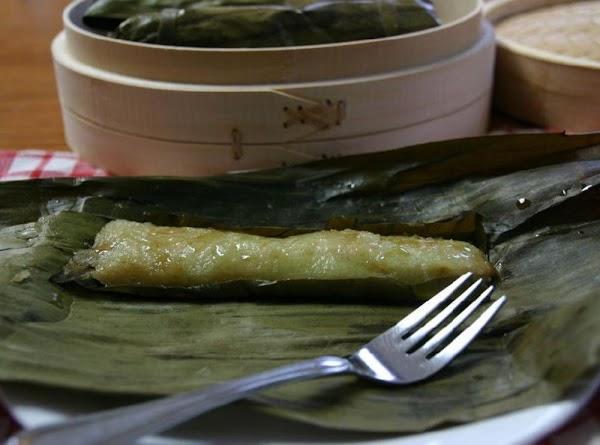 Suman Sa Lihiya Filipino Steamed Sweet Sticky Rice Recipe