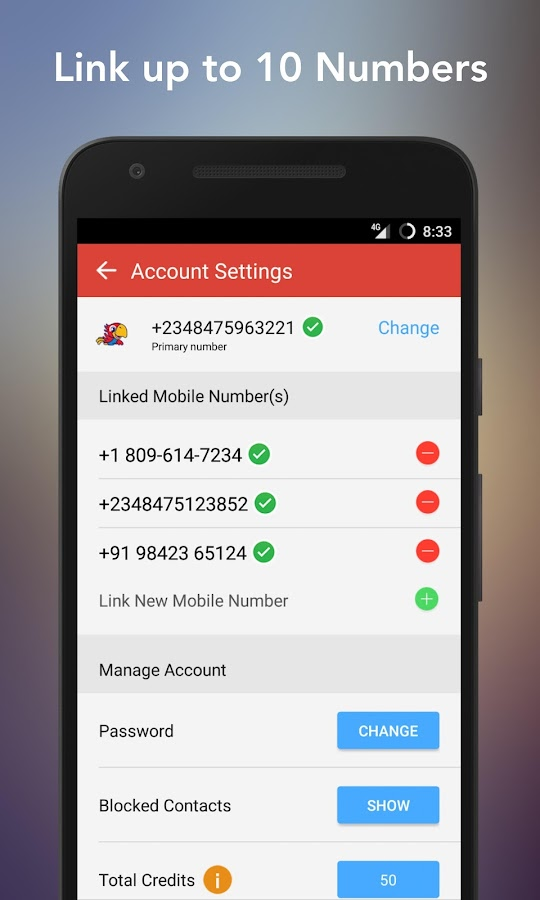 InstaVoice: Visual Voicemail & Missed Call Alerts- screenshot